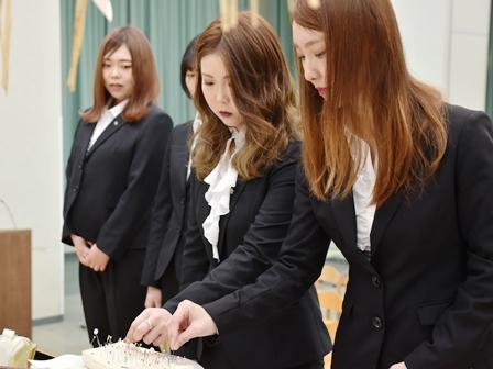 青森田中学園感謝祭(針供養)を行いました(2/8)